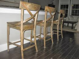 Rattan Kitchen Chairs Dining Room Rattan Target Barstools On Dark Pergo Flooring With