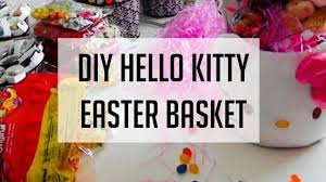 hello easter basket start to finish tutorial filling your own easter basket