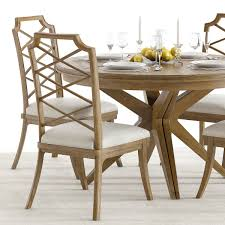 Hooker Dining Room Chairs Hooker Retropolitan Dining Set 3d Model Cgtrader