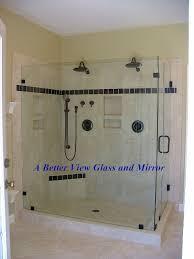 Large Shower Doors Custom Framed Frameless Glass Shower Doors