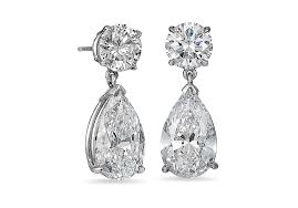 teardrop diamond earrings extraordinary one of a diamond jewelry the ritani vault ritani