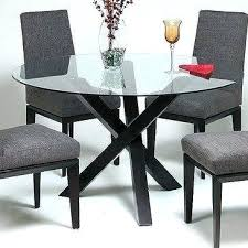 glass topped dining room tables dining glass top dining table 4
