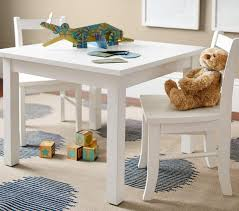 Pottery Barn Kids My First Chair My First Play Table U0026 Chairs Simply White Pottery Barn Kids