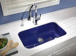 Colored Sinks Kitchen 15 Easy Ways To Add Color To Your Kitchen Fireclay Sink Sinks