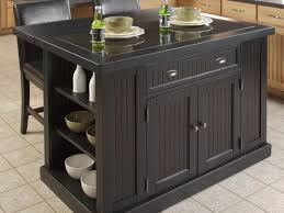 kitchen island 10 delectable black wooden kitchen island