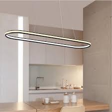 Oval Pendant Light Oval Led Pendant Light Ilumisense Touch Of Modern