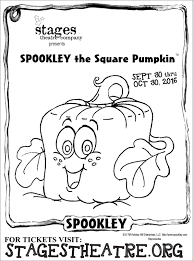 spookley the square pumpkin stages theatre company