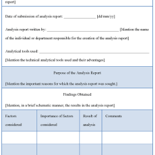 analytical report template sle transaction cost analysis report template helloalive