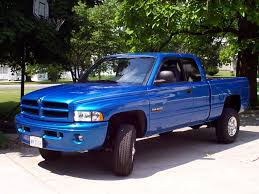 blue dodge ram 2500 truck dodge ram trucks blue pinterest