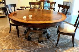 round extendable farmhouse table u2022 farmhouse