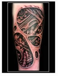 biomechanical tattoo for knee 56 mechanical gear tattoos