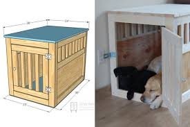 Diy End Table Dog Crate by Blog 7 Diy Pet Furniture Projects