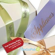 custom ribbon printing custom hot sted satin ribbons single from offray