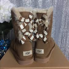 womens ugg bailey boots chestnut 45 ugg shoes sold ugg bailey bow stripe boots chestnut 8