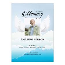 prayer cards for funeral angel funeral invitations announcements zazzle