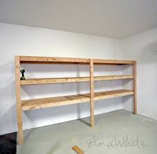 Plans For Wooden Toy Garage by Ana White Easy And Fast Diy Garage Or Basement Shelving For Tote