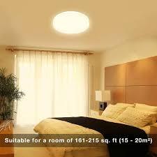Bedroom Led Ceiling Lights 24w Led Flush Ceiling Lights Warm White 13 Inch 200w Incandescent