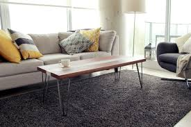 riverview design solutionswalnut and concrete coffee table
