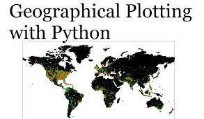 Plot Map Geographical Plotting With Python Part 4 Plotting On A Map Youtube