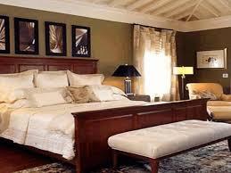 master bedroom ideas light blue pattern wallpaper beige staine