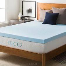 lucid 2 inch bamboo charcoal ultra ventilated memory foam mattress