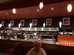 sur la cuisine la cuisine ouverte sur le restaurant picture of casa paco ans