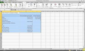 how to run a paired samples t test in excel youtube