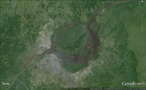 Congo River Map Navigability Of Port Brazaville In Congo River Deltares