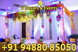 Marriage Decorations V Decors And Events Wedding Hall Decorations Marriage