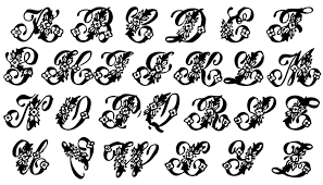 monogram letter vintage clip beautiful monogram alphabet monogram alphabet