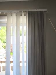 How To Hang Sheers And Curtains Sew Many Ways Hiding Rental Apartment Vertical Blinds