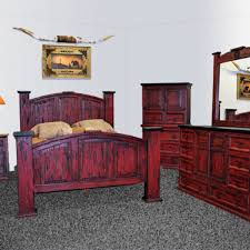 red bedroom furniture rustic red scrape mansion bed chubby s mattress mattresses and