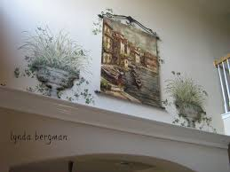 How To Paint High Walls by Lynda Bergman Decorative Artisan Hand Painting Artwork Ivy