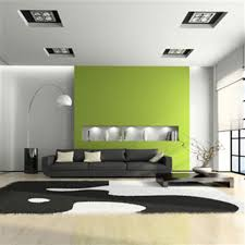 idyllic home living room wall decor integrates gorgeous green