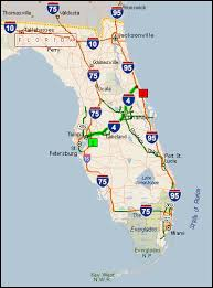 florida highway map florida map with highways deboomfotografie
