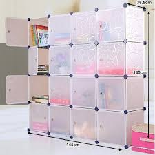 wardrobe storage cabinet white plastic 16 cube storage cabinet unit white 145cm buy wardrobes