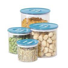 oggi kitchen canisters oggi plastic kitchen canisters jars ebay