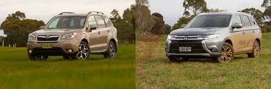 subaru mitsubishi subaru forester vs mitsubishi outlander which should outdoorsy
