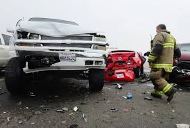 wrecked car transparent 50 vehicles crash in heavy fog on highway 198 in hanford the