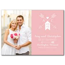 save the date card save the date cards artistic arrow