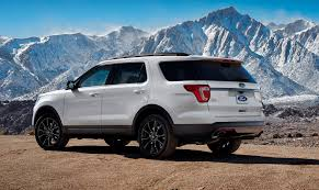 Ford Explorer Xlt - 2017 ford explorer xlt sport pack is high impact styling upgrade