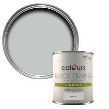 colours quick dry light rain eggshell wood u0026 metal paint 750 ml