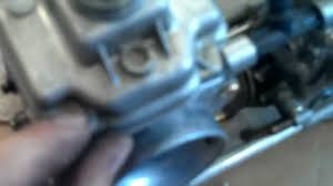 how to clean mikuni flatslid carbs on polaris snowmobile 2001
