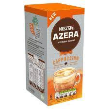 cuisine cappuccino nescafe azera cappuccino instant coffee 6 sachets 96g from ocado