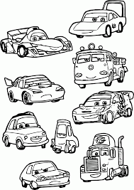 coloring pages cars 2 characters coloring coloring home