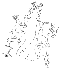 coloring picture ice age picture