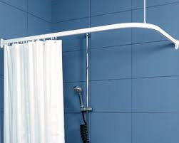 Bendy Shower Curtain Rail - contour showers uk specialists in disabled showers curtains