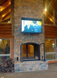 Portable Indoor Outdoor Fireplace by The 25 Best Indoor Outdoor Fireplaces Ideas On Pinterest Double