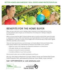 home warranty protection plans better homes and gardens real estate home warranties