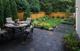 Paved Garden Design Ideas Fabulous Small Backyard Paver Ideas Backyard Paver Designs